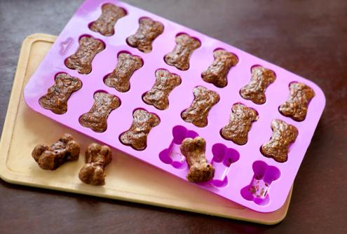 Tuesday's Treat 3-Ingredient Chicken Dog Biscuits