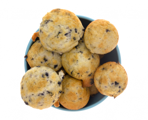 Tuesday's Treat Blueberry Dog Biscuits